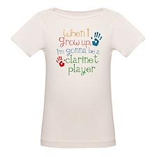Future Clarinet Player Organic Baby T-Shirt