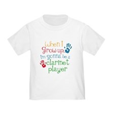 Future Clarinet Player Toddler T-Shirt
