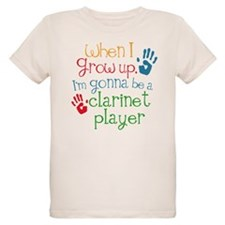 Future Clarinet Player Organic Kids T-Shirt