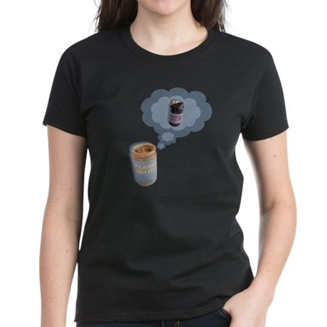 Peanut Butter Women's Dark T-Shirt