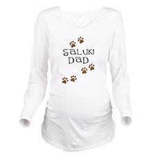 saluki dad 2.png Long Sleeve Maternity T-Shirt