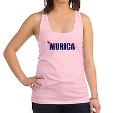 'Murica America Racerback Tank Top