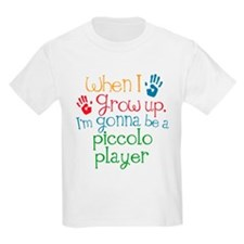 Future Piccolo Player Kids Light T-Shirt