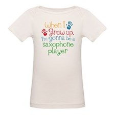 Future Saxophone Player Organic Baby T-Shirt