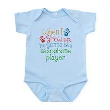 Future Saxophone Player Infant Bodysuit