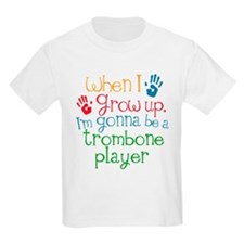 Future Trombone Player Kids Light T-Shirt