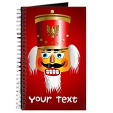 Personalized Nutcracker Head Journal