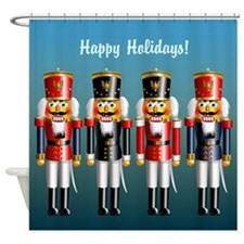 Nutcracker Head Shower Curtain