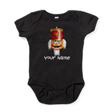 Personalized Nutcracker Head Baby Bodysuit