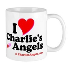 I Heart Charlie's Angels Small Mug
