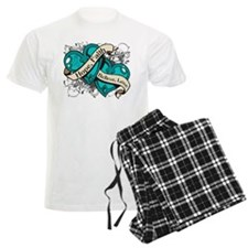 PKD Hope Faith Dual Hearts Pajamas