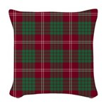 Tartan - Crawford Woven Throw Pillow