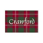 Tartan - Crawford Rectangle Magnet (10 pack)