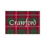Tartan - Crawford Rectangle Magnet (100 pack)