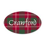 Tartan - Crawford 20x12 Oval Wall Decal