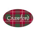Tartan - Crawford 35x21 Oval Wall Decal