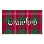 Tartan - Crawford Sticker (Rectangle 50 pk)