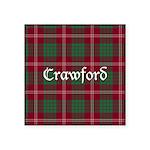 Tartan - Crawford Square Sticker 3