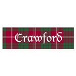 Tartan - Crawford Sticker (Bumper 50 pk)
