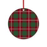 Tartan - Crawford Ornament (Round)