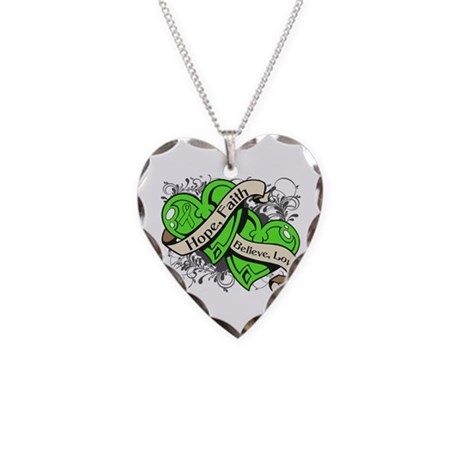 Muscular Dystrophy Hope Hearts Shirts Necklace Hea