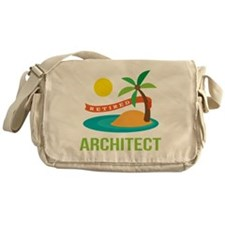 Retired Architect Messenger Bag