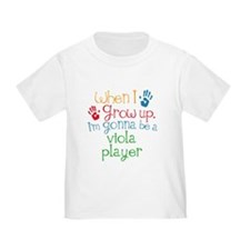Future Viola Player Toddler T-Shirt