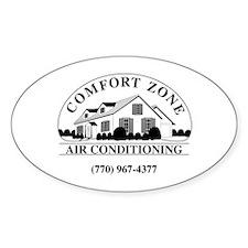 Comfort Zone B&W Decal