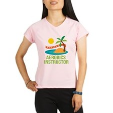 Retired Aerobics Instructor Performance Dry T-Shir