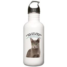 Everycatshouldland Water Bottle