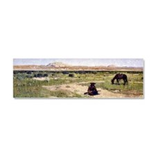 A Rest in the Desert, 1897 Car Magnet 10 x 3