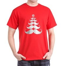Stache-tastic Holidays T-Shirt