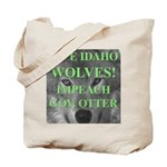 Save Idaho Wolves Tote Bag