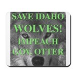 Save Idaho Wolves Mousepad 