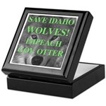 Save Idaho Wolves Keepsake Box