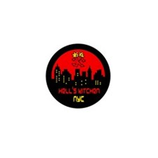 Hell's Kitchen Logo Mini Button