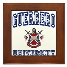 GUERRERO University Framed Tile