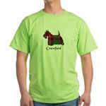 Terrier - Crawford Green T-Shirt