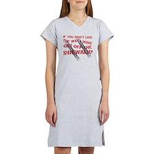 sidewalk Women's Nightshirt