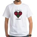 Heart - Crawford White T-Shirt