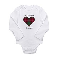 Heart - Crawford Long Sleeve Infant Bodysuit