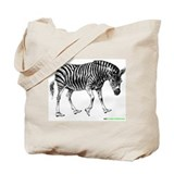 Zebra On (Tote Bag)