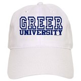 GREER University Baseball Cap