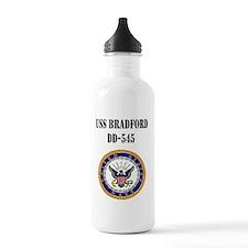 bradford patch black Water Bottle