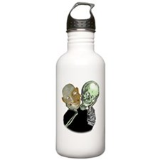Mask and skull Water Bottle