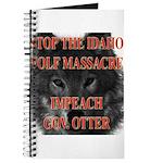Stop the wolf massacre Journal