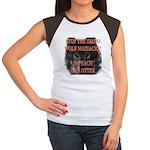 Stop the wolf massacre Women's Cap Sleeve T-Shirt