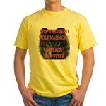 Stop the wolf massacre Yellow T-Shirt