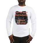 Stop the wolf massacre Long Sleeve T-Shirt
