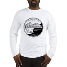 coin-quarter-washington Long Sleeve T-Shirt